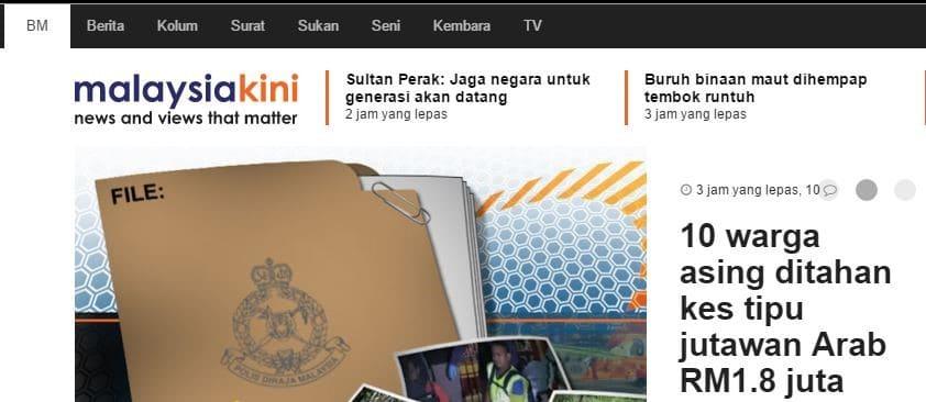 Malaysiakini Portal Berita Malaysia
