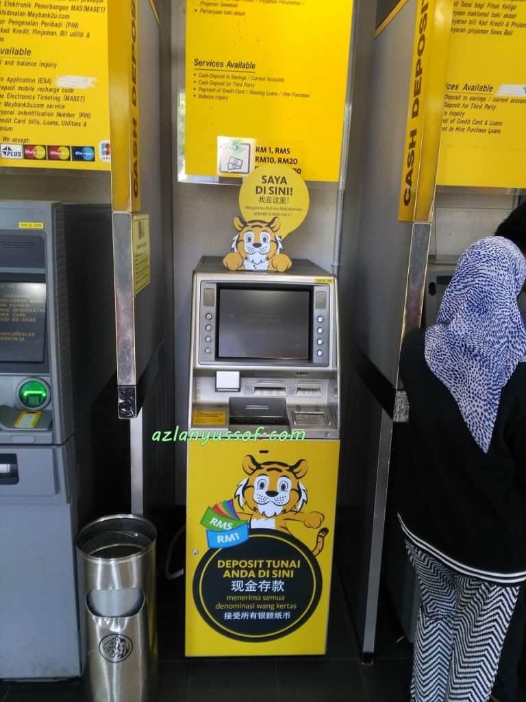 Maybank Cash Deposit Machine Pasir Gudang
