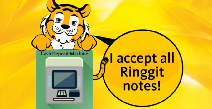 maybank cash deposit machine accept RM5 RM1